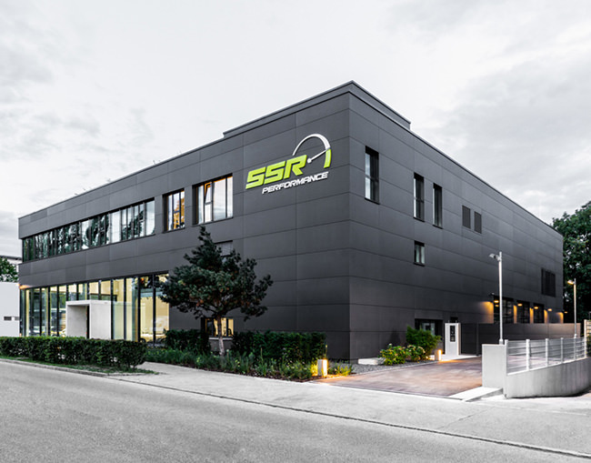 SSR Performance Gebäude in München Außenansicht
